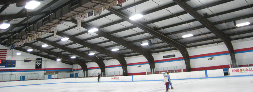 iceland ice arena midwest industrial lighting